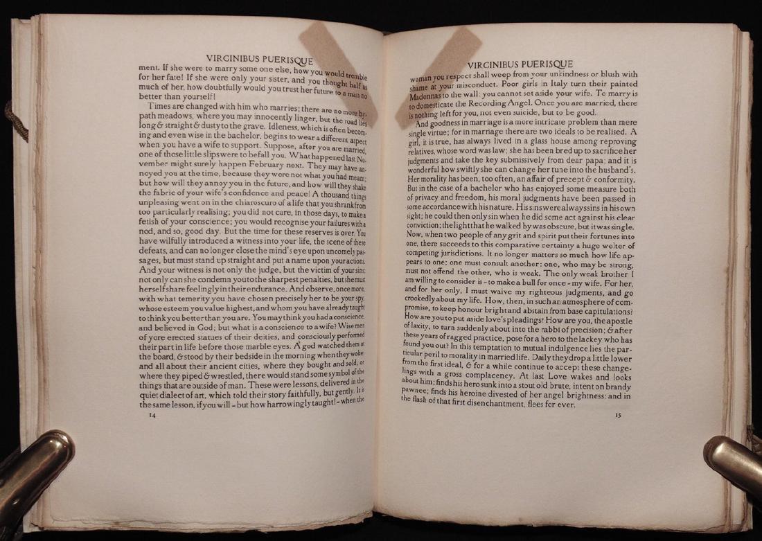 [Florence Press]  Stevenson's Virginus Puerisque - 7