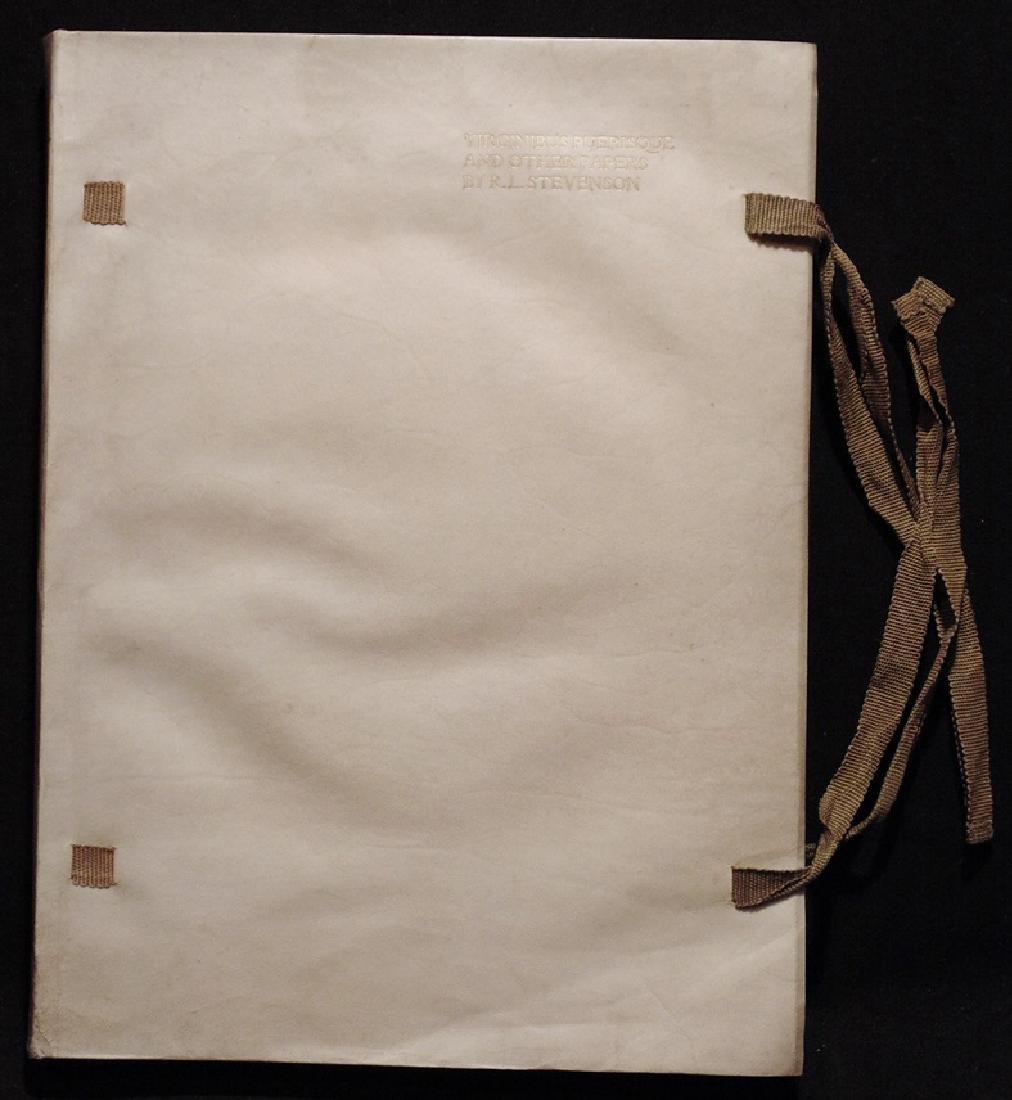 [Florence Press]  Stevenson's Virginus Puerisque - 8