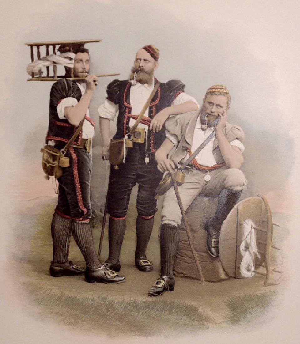 [Costume]  De Schweizertrachten . . . .
