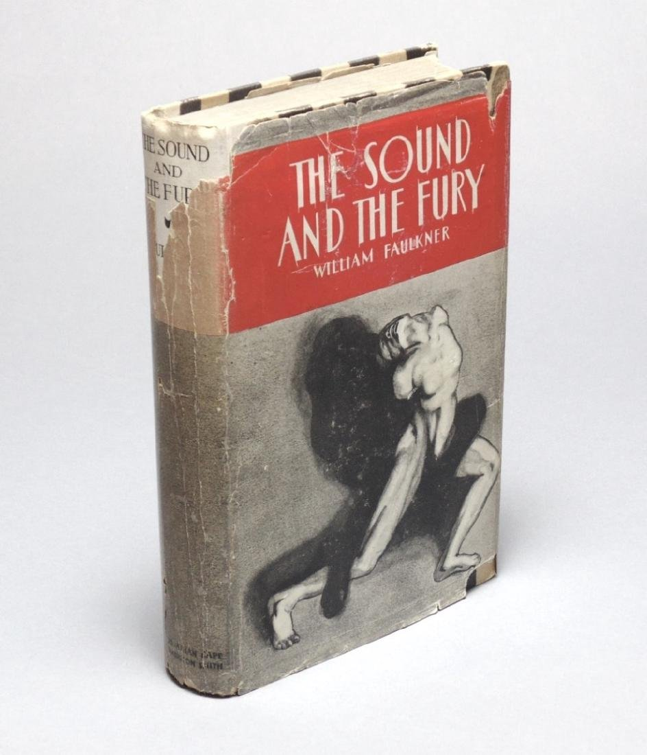 Faulkner, William. The Sound & The Fury, 1st Ed.