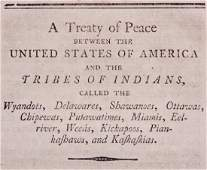 Native American  British Treaties 1795