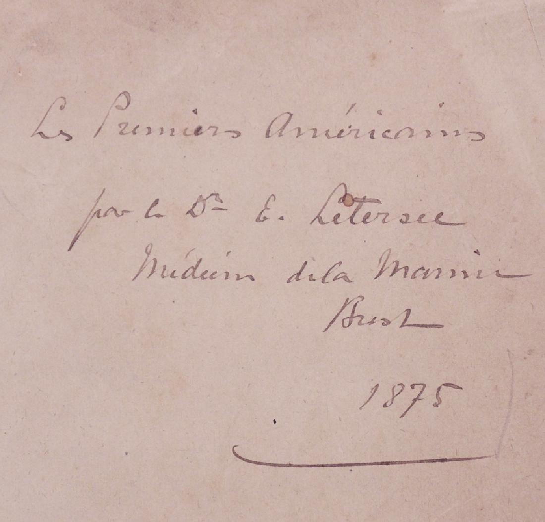 Native Americans 19th c Manuscript