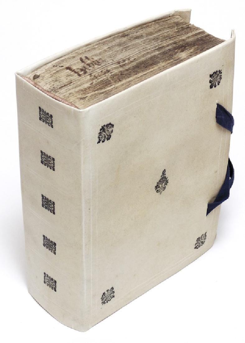[Bible]  Sacra Biblia, 1588