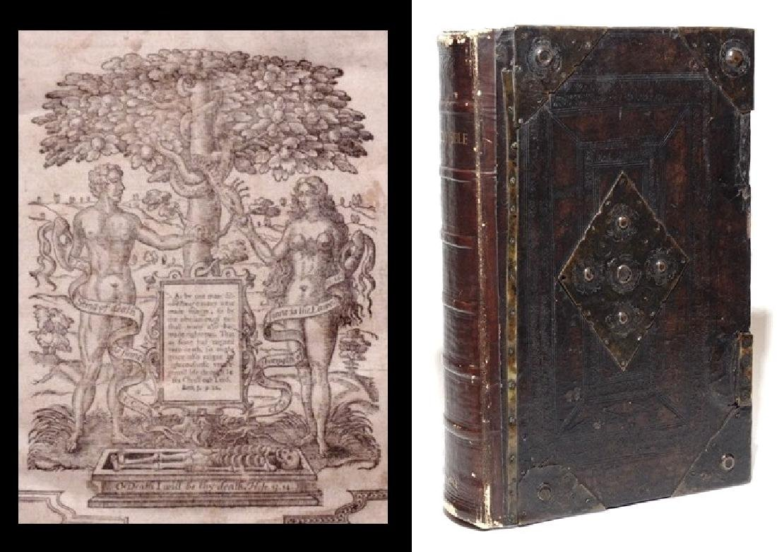 Bible.  King James, True 1613 Folio Edition