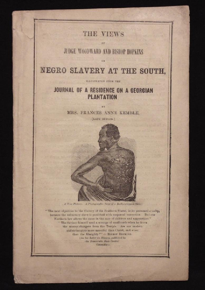 [Slavery, Civil War]  Negro Slavery…. 1863