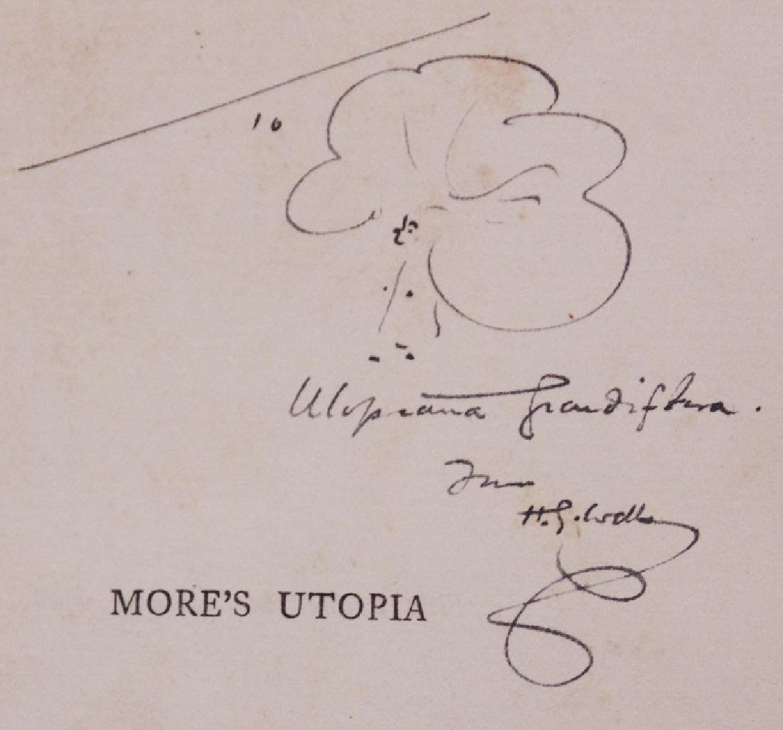 [H. G. Wells, Pair of Signed Books]