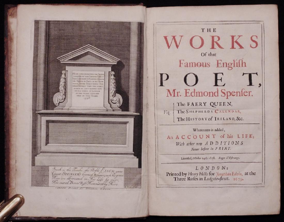 Edmond Spenser's Works, 1679