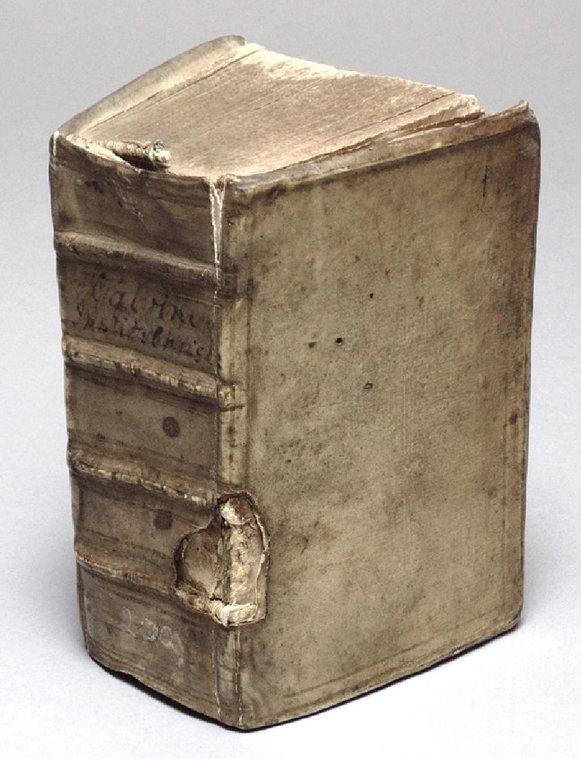 Calvin, John.  Institutio Christianae…. 1554
