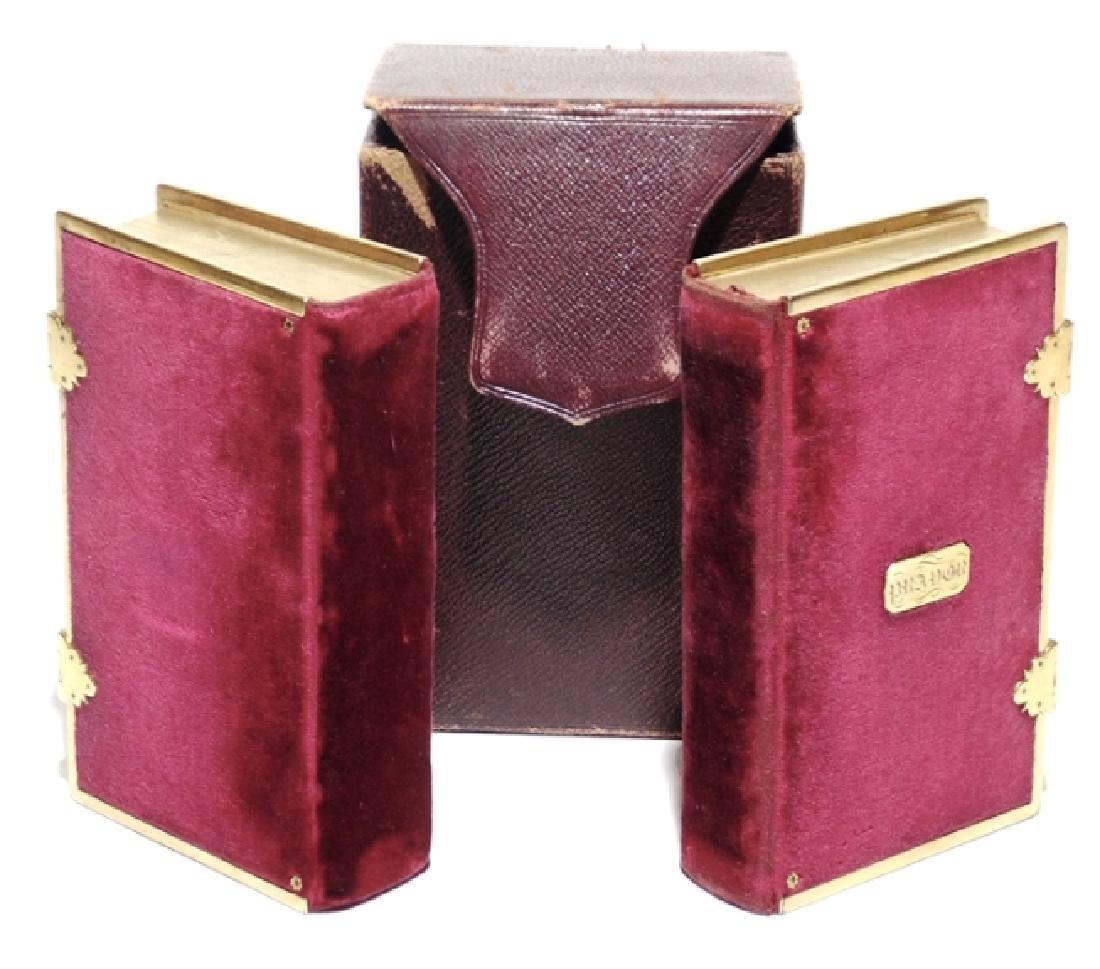 [Velvet Bindings, Bible, 1828]