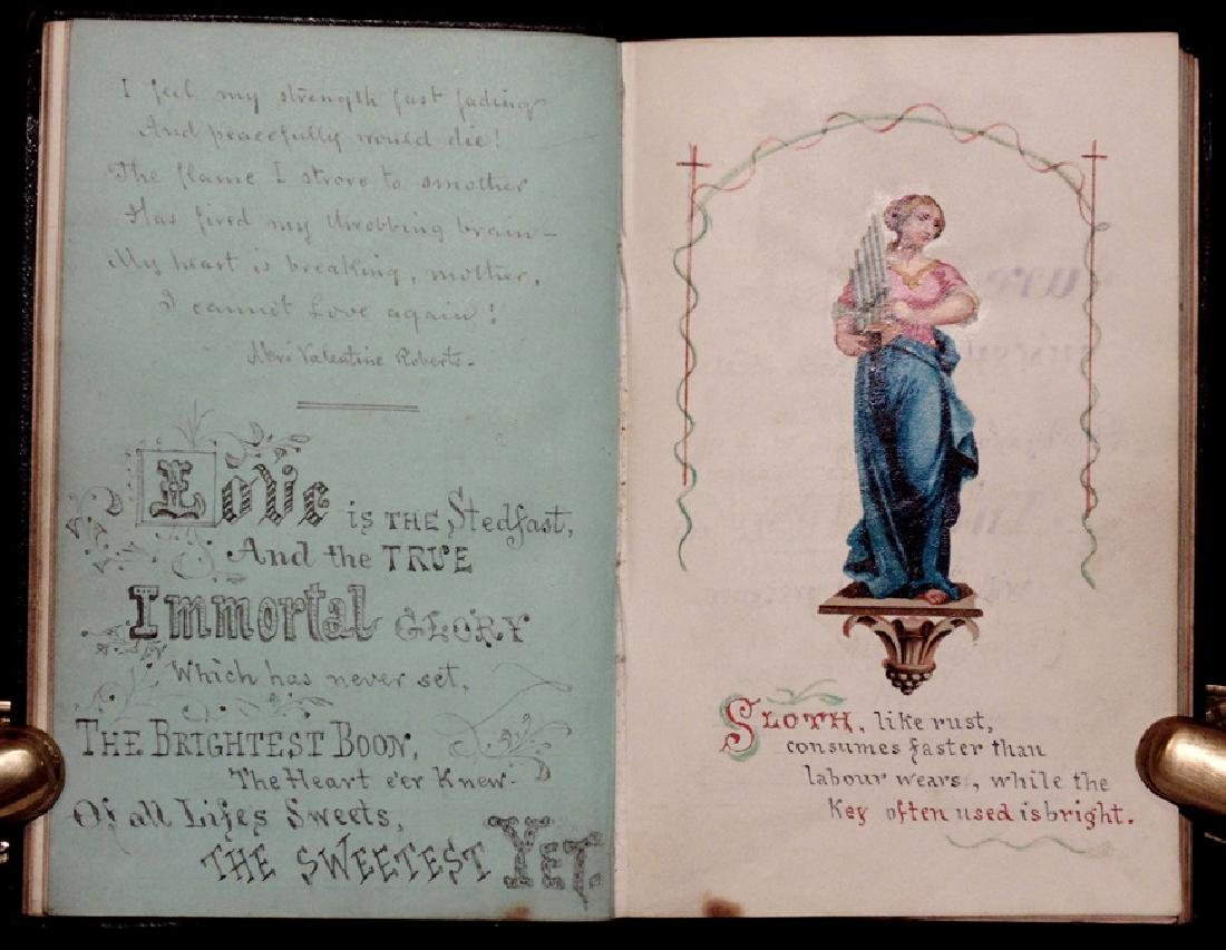 Manuscript Commonplace Book, 19th c.
