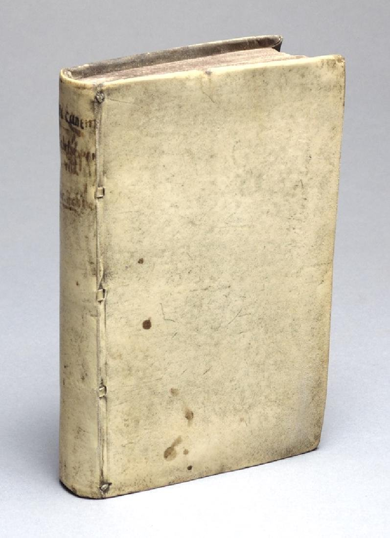 [Caspar Schoppe]  17th c., 2 works bound in 1