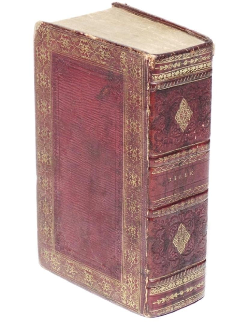 [Binding]  Holy Bible.  Boston, 1818
