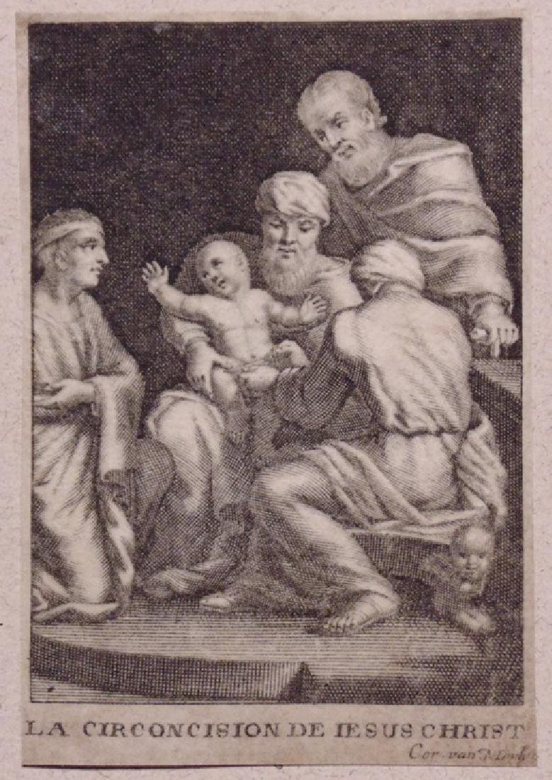 Engraving on Vellum, Circumcision of Christ