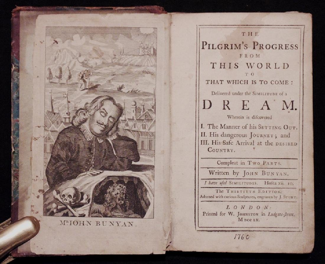 John Bunyan's Pilgrim's Progress, 1759-60
