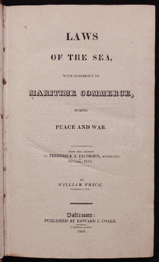 [Maritime Law, U. S. Navy, 1818]