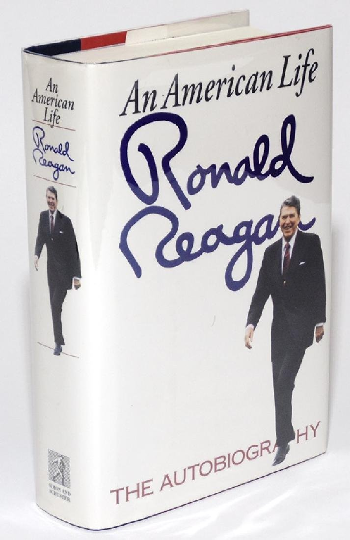 Ronald Reagan.  An American Life, SIGNED