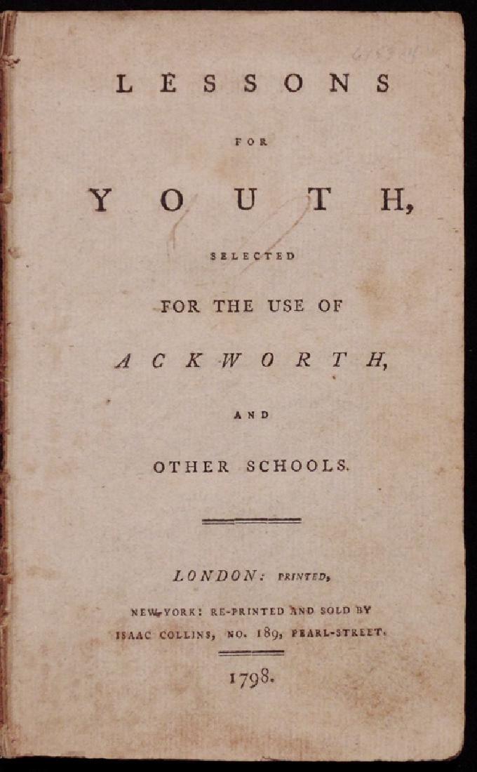 [Early American Imprint, Juvenile Literature]