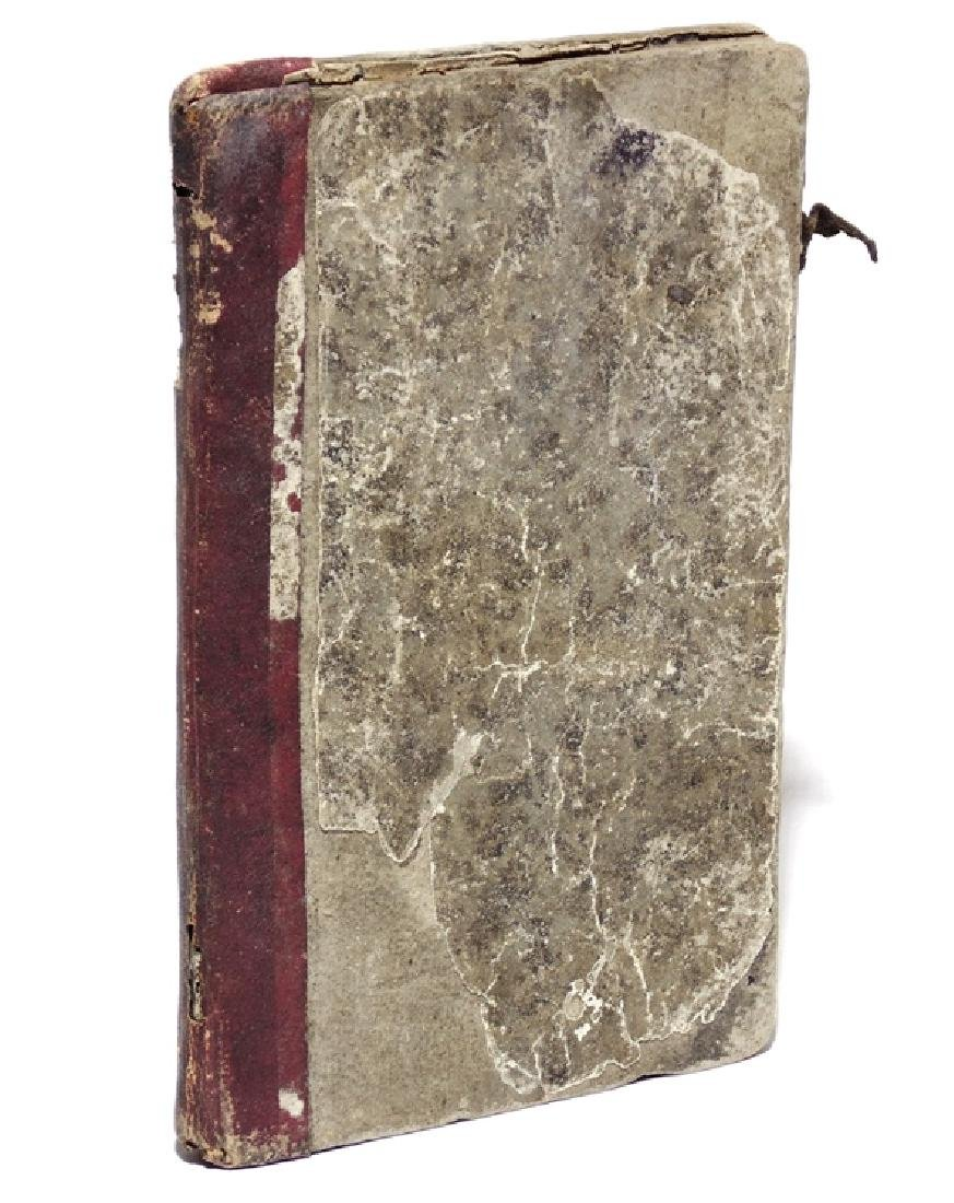 Manuscript Recipes for Silk Dyes, 19th c.