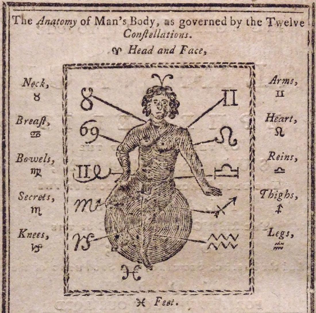 [Early American Imprints, Almanacs, Woodcuts]