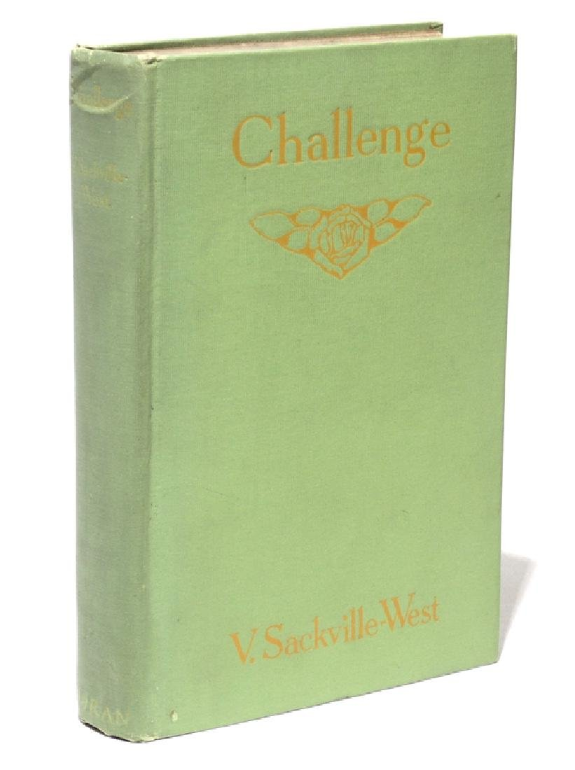Sackville-West.  Challenge.  1923, 1st Ed.