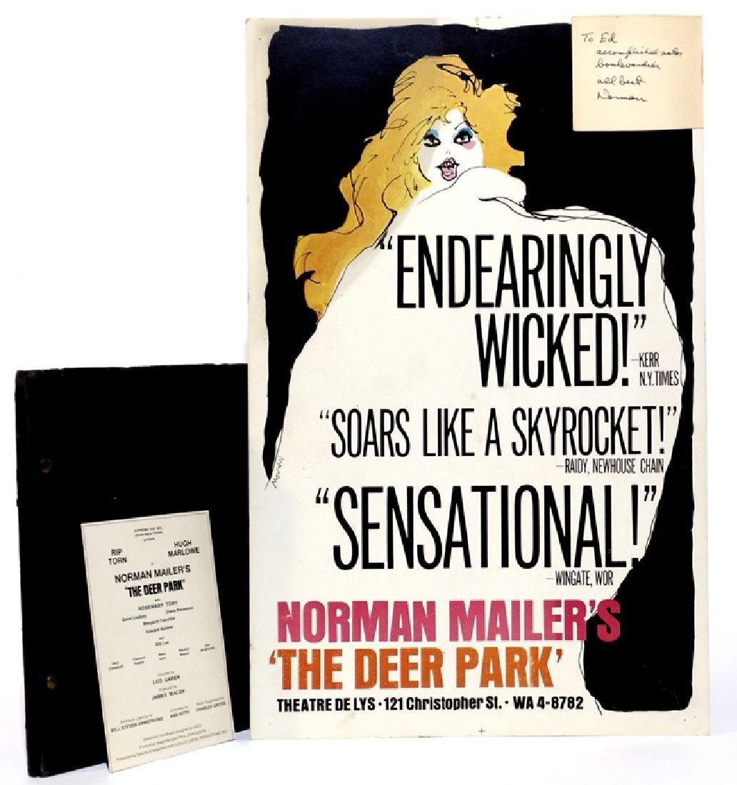 Norman Mailer.  Deer Park Typescript, SIGNED