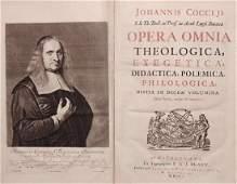 Johannis Coccejus Opera Omnia 1701