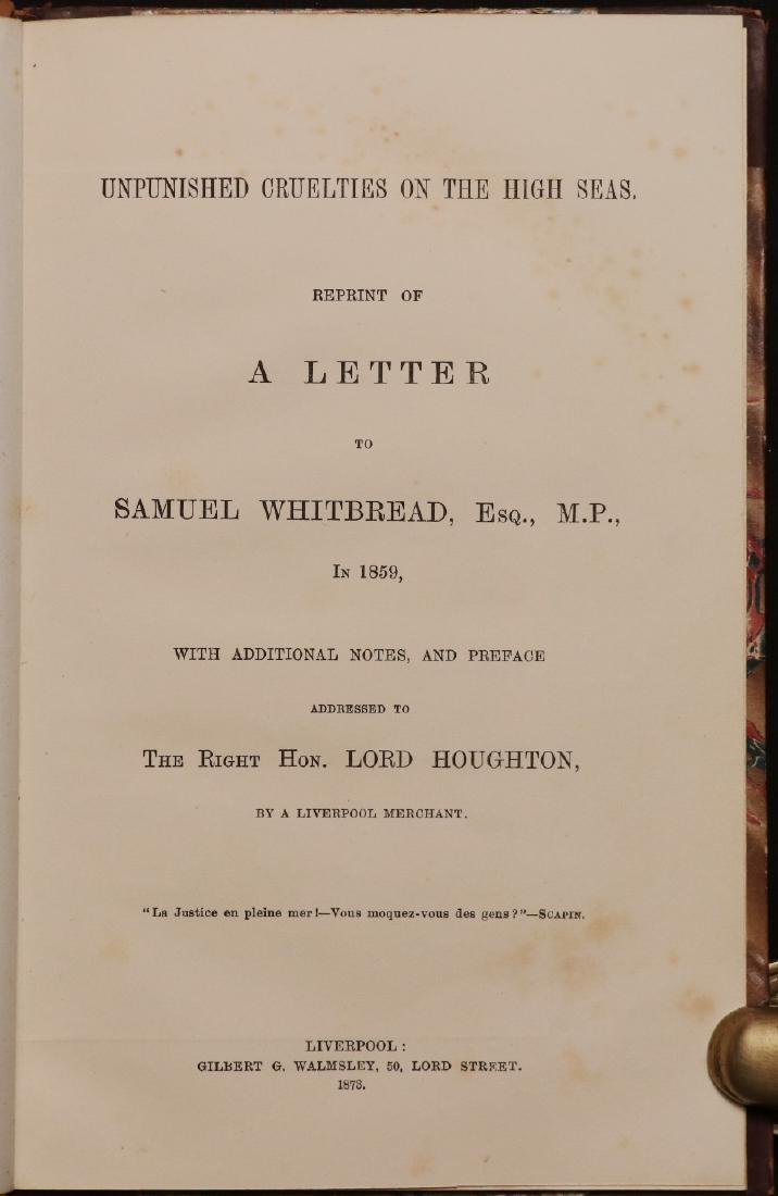 [Civil War, Rob. Schenck, Maritime, Book & Letter] - 3