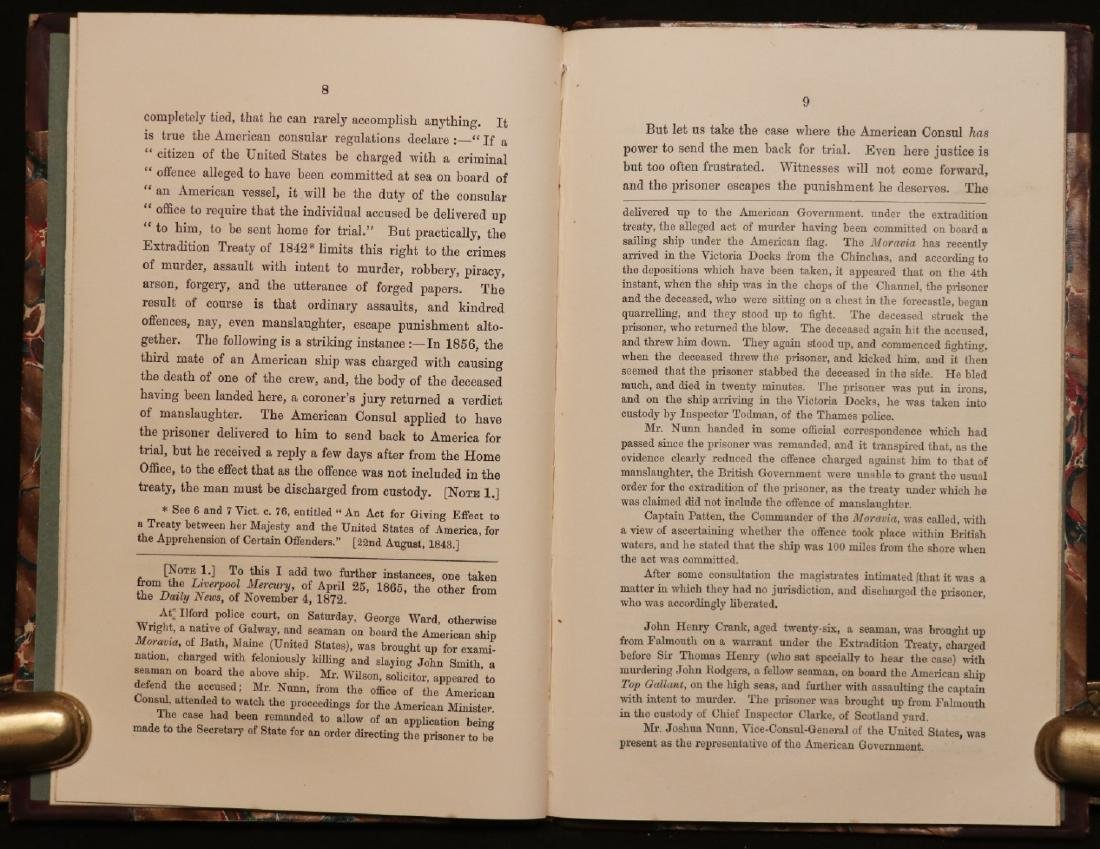 [Civil War, Rob. Schenck, Maritime, Book & Letter] - 4