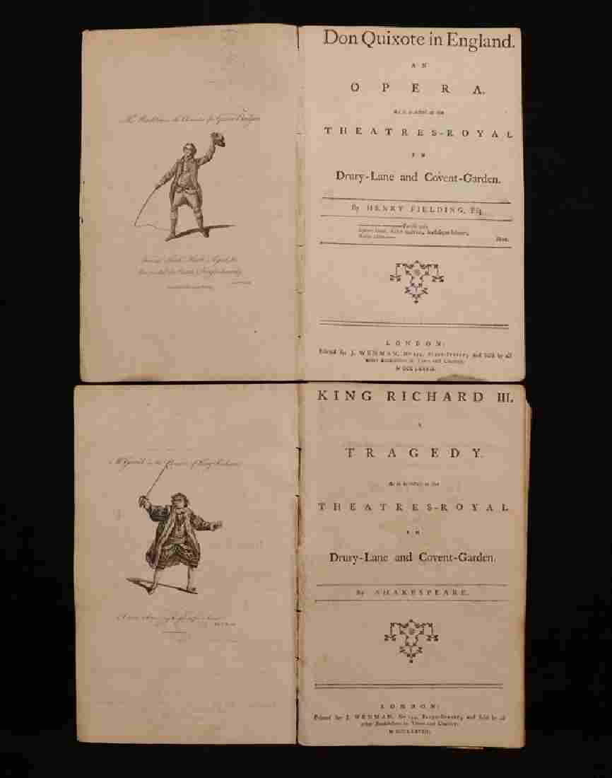 Henry Fielding, Shakespeare, Pair of Plays