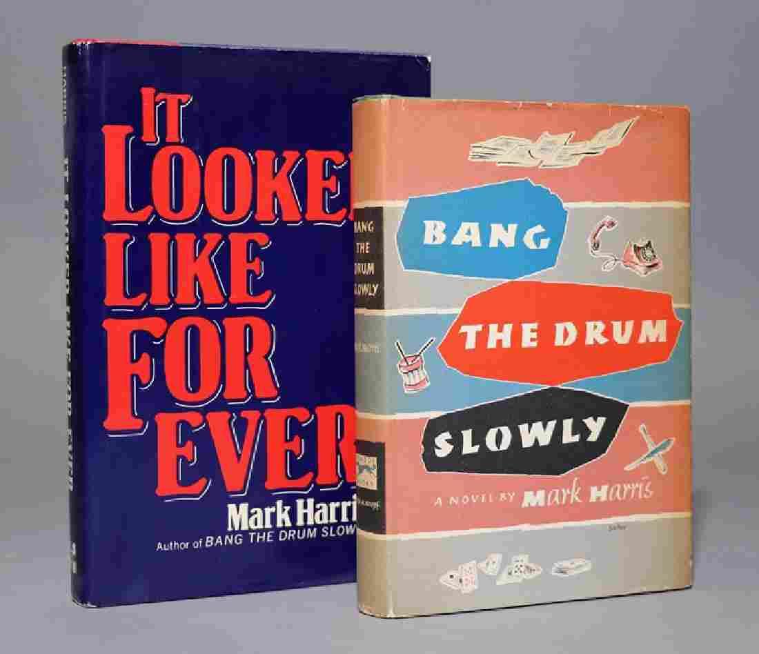 Harris, Mark [A Pair] Bang the Drum Slowly….