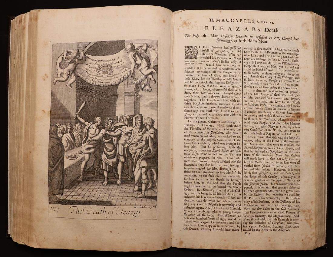 Blome's History of the Bible, 1754, Plates - 2