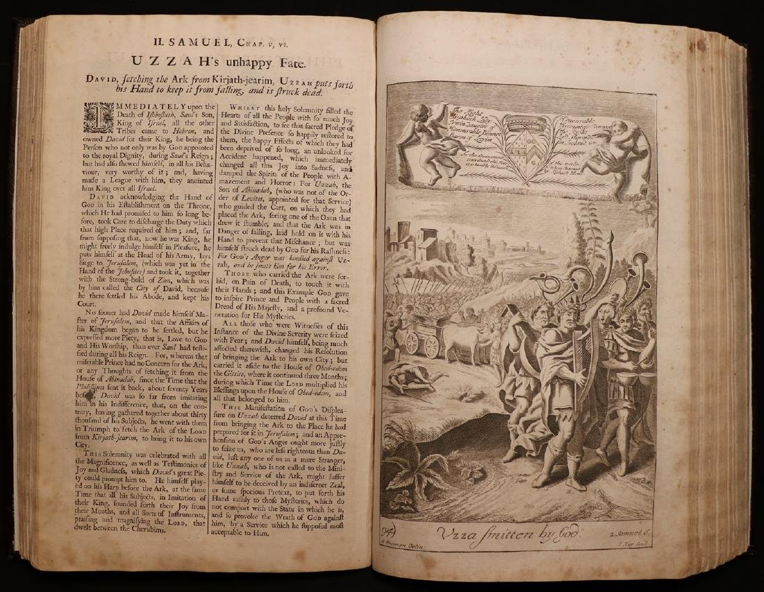 Blome's History of the Bible, 1754, Plates - 3