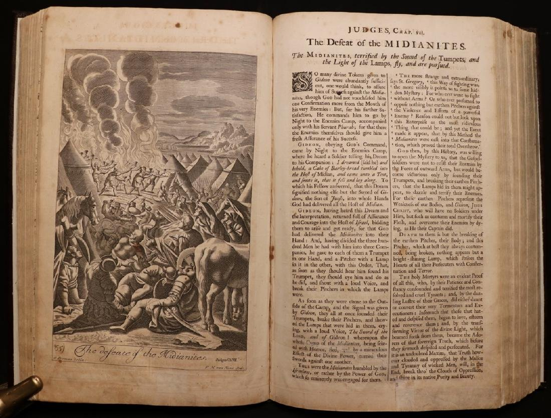 Blome's History of the Bible, 1754, Plates - 5
