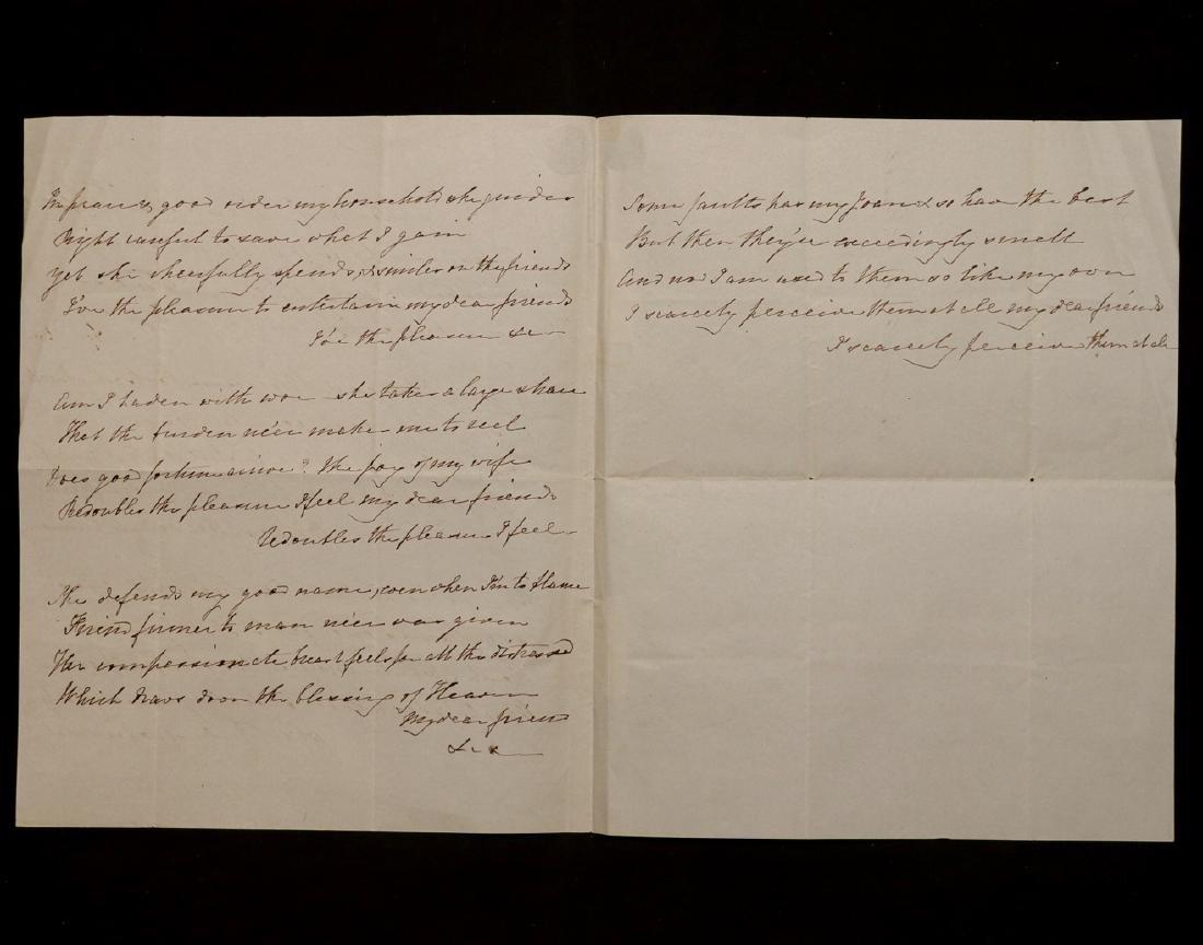Ben Franklin, Manuscript Song - 3