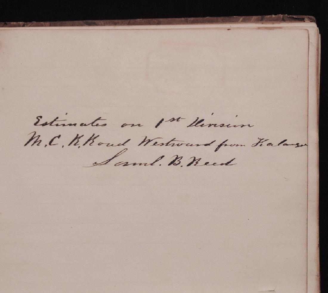 [Michigan Central Railroad]  Ledger, 1847 - 2
