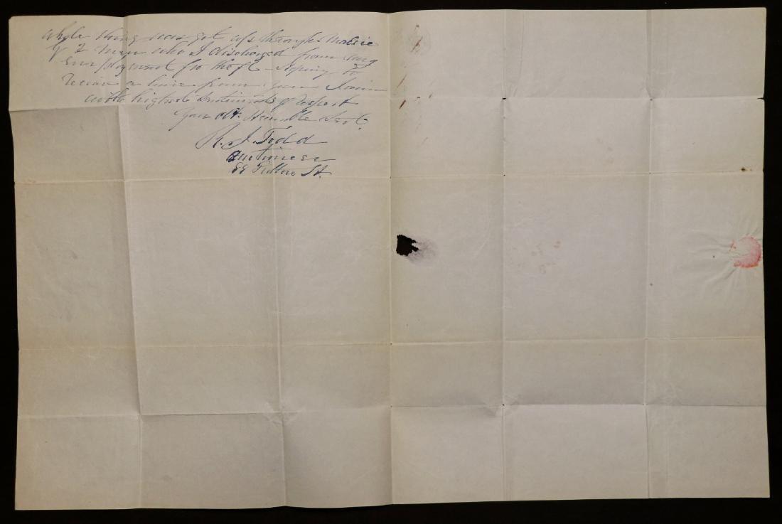 Manuscript Letter to Millard Fillmore - 2