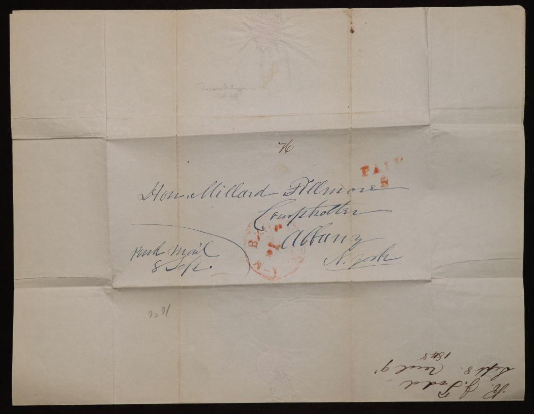 Manuscript Letter to Millard Fillmore - 3