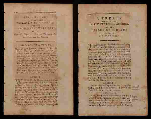 Early American Treaties with Native Americans