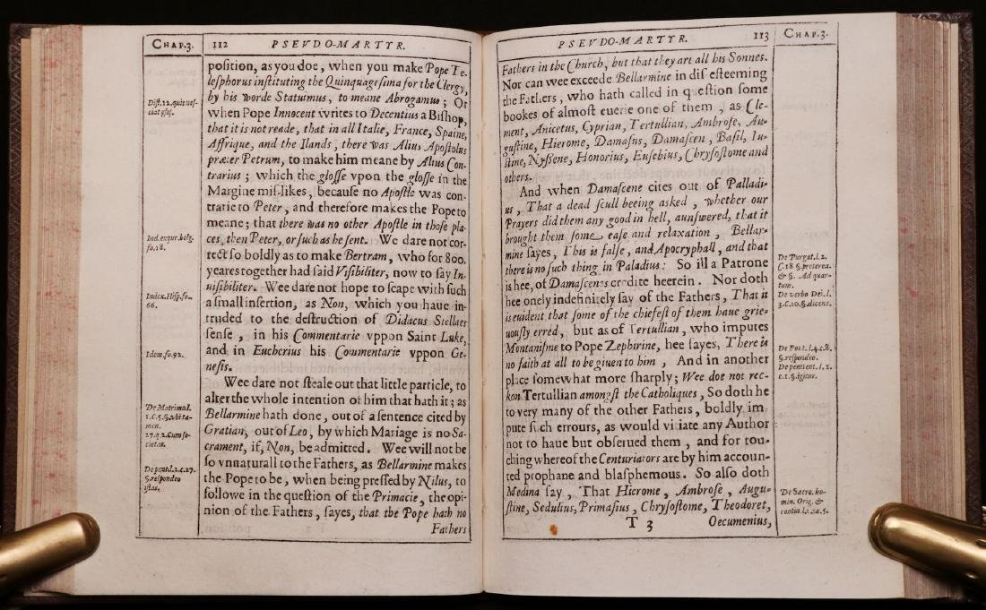 John Donne.  Pseudo-Martyr, 1610, 1st Ed. - 7