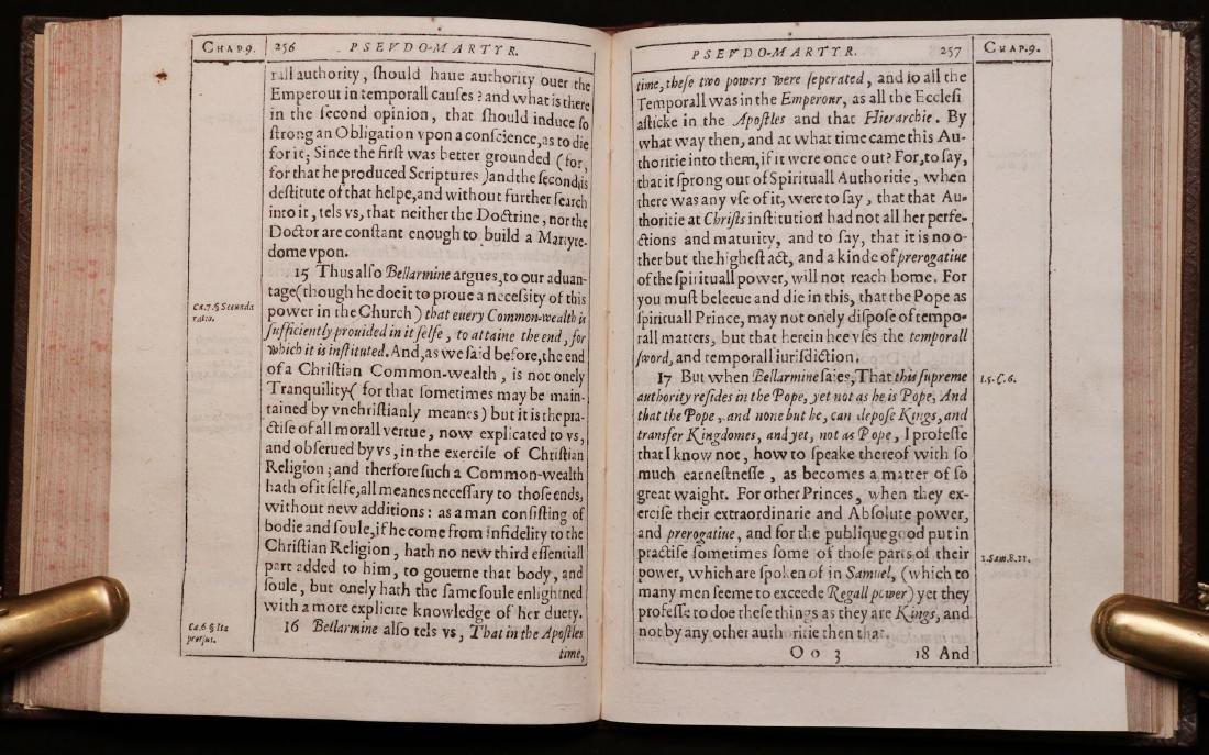 John Donne.  Pseudo-Martyr, 1610, 1st Ed. - 8