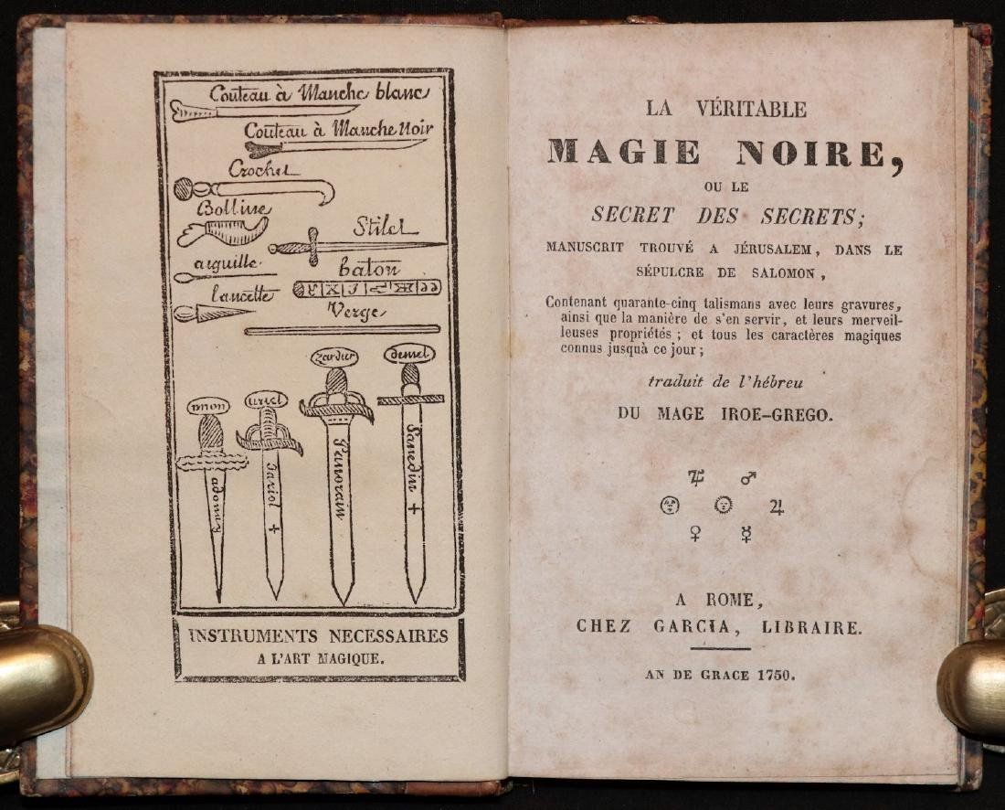 [Magic, Grimoire]  Magie Noire, Secret des Secrets - 5