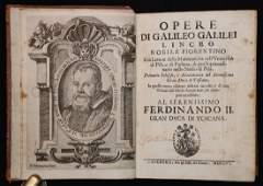 Galileo.  Opere di Galileo Galilei, 1655-56