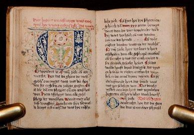 Manuscript Dutch Prayer Book, ca. 1500