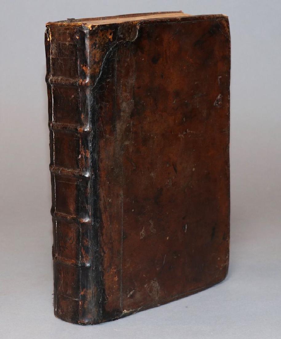 Burton's Anatomy of Melancholy, 1660 - 8