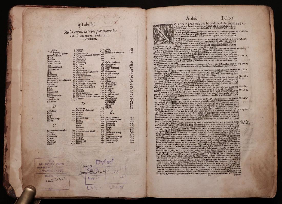 Fitzherbert on Common Law, 1577 - 2