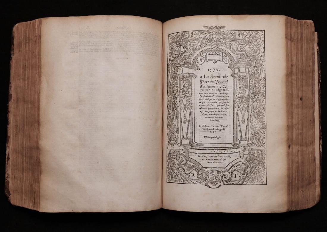 Fitzherbert on Common Law, 1577 - 6