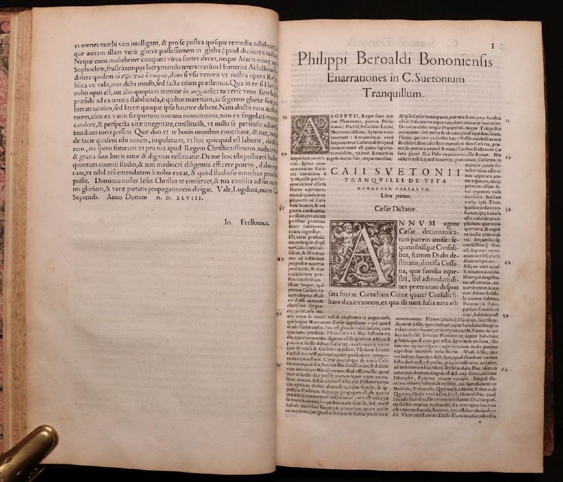 Suetonius, Twelve Caesars, 1548 - 3