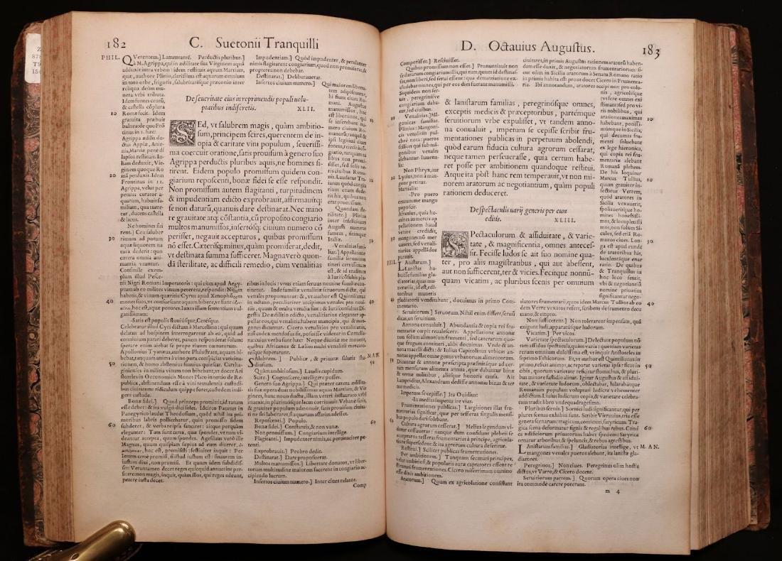 Suetonius, Twelve Caesars, 1548 - 4