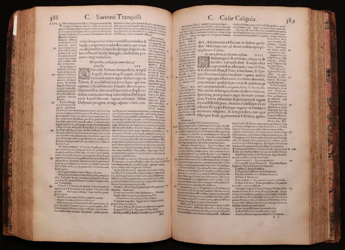 Suetonius, Twelve Caesars, 1548 - 5