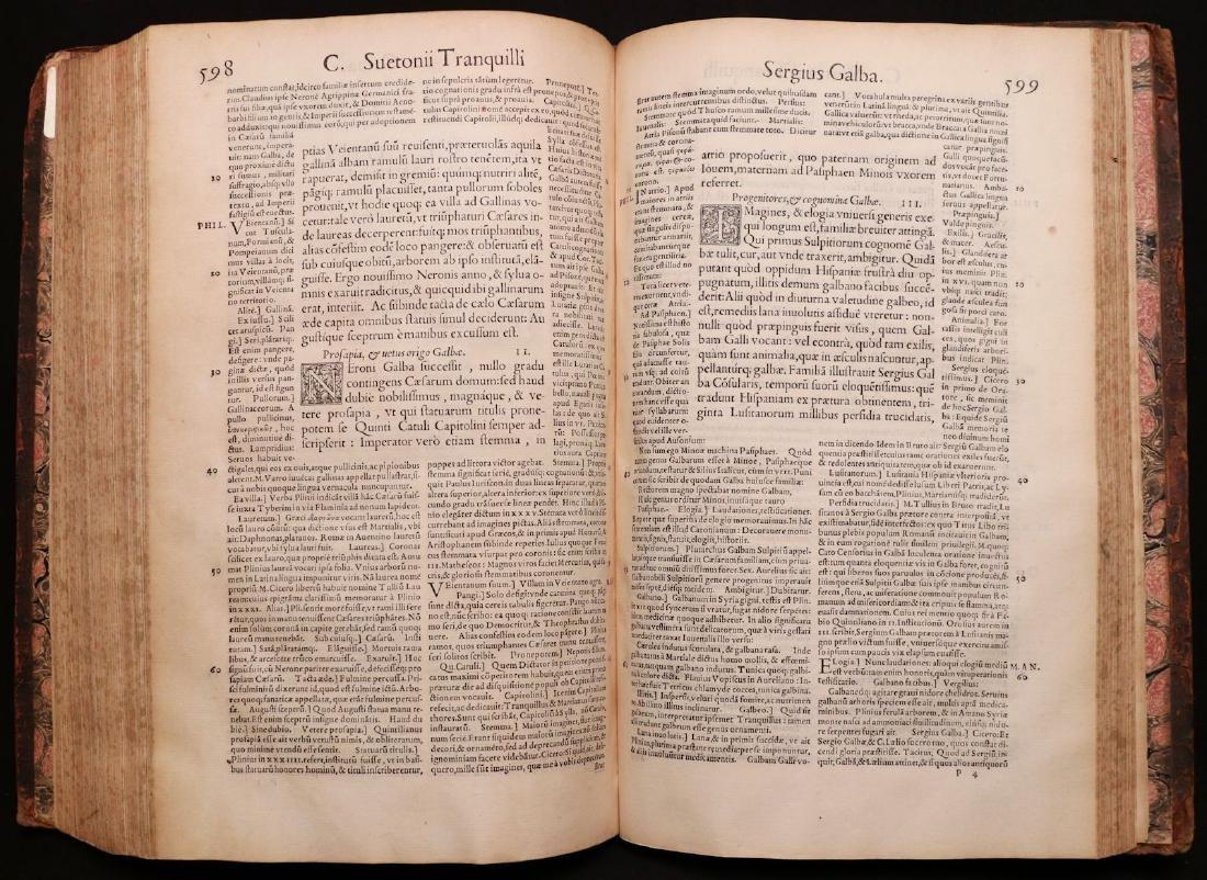 Suetonius, Twelve Caesars, 1548 - 6